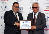 Academician Ziyad Samadzade attends CEO Lunch Baku as honored guest 01.05.2019