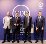 Birinci milli CEO Award Azerbaijan musabiqesi  CEO cocktail_7