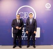 Birinci milli CEO Award Azerbaijan musabiqesi  CEO cocktail_8