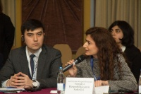 Caspian Ambassadors Club's traditional round table held_101