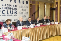 Caspian Ambassadors Club's traditional round table held_102