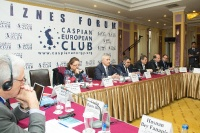 Caspian Ambassadors Club's traditional round table held_106