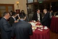 Caspian Ambassadors Club's traditional round table held_112