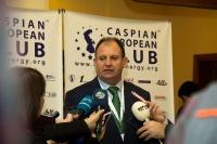 Caspian Ambassadors Club's traditional round table held_18