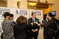 Caspian Ambassadors Club's traditional round table held_21