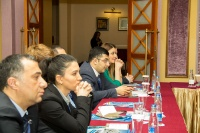 Caspian Ambassadors Club's traditional round table held_38