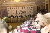 Caspian Ambassadors Club's traditional round table held_39