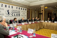 Caspian Ambassadors Club's traditional round table held_58