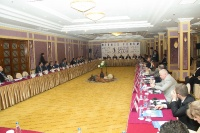 Caspian Ambassadors Club's traditional round table held_62