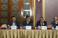 Caspian Ambassadors Club's traditional round table held_79