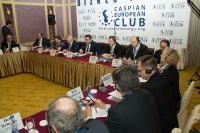 Caspian Ambassadors Club's traditional round table held_86
