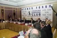 Caspian Ambassadors Club's traditional round table held_87