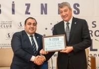 Caspian European Club holds Business Forum with participation of Ramiz Hasanov  07.03.2018