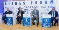 Caspian European Club holds business forum with State Migration Service_16