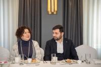CEO Brunch with people's writer of Azerbaijan Chingiz Abdullayev 25.01.2020_4