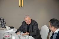 CEO Brunch with people's writer of Azerbaijan Chingiz Abdullayev 25.01.2020_8