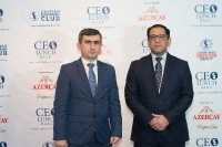 Head of the State Agency - honorable guest of CEO Lunch Baku 16.01.2019_18