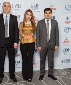 Fuad Muradov attends CEO Lunch Baku as an honorable guest _12