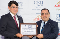 Fuad Muradov attends CEO Lunch Baku as an honorable guest _169